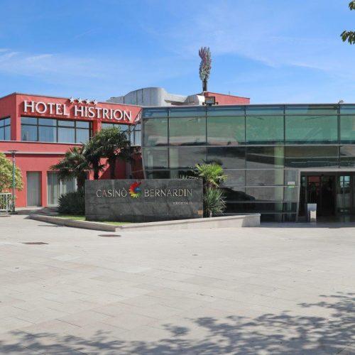 Hotel Histrion-entrance